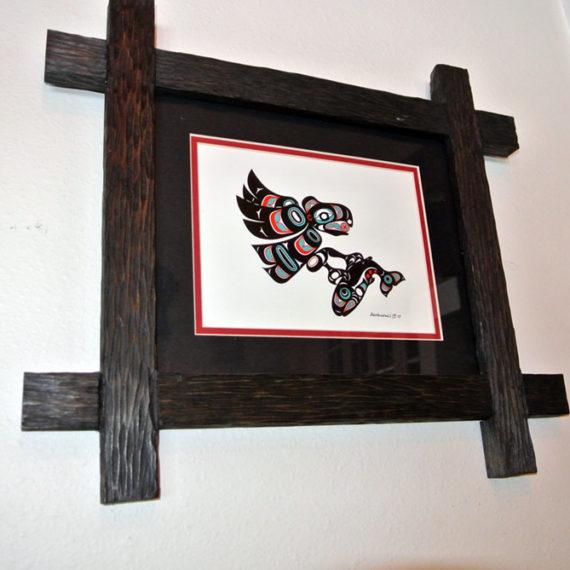 Cross Over Wood Frame