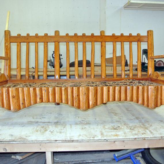 Furniture Restoration - Couch Frame