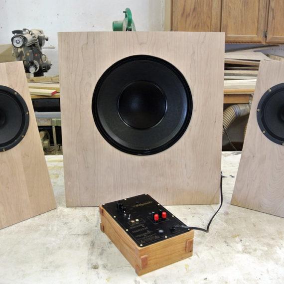 Custom Wood Speakers