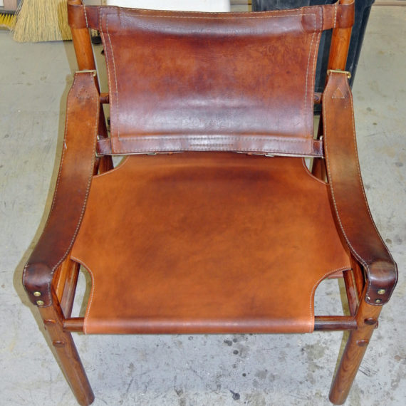 Furniture Restoration - Leather Chair