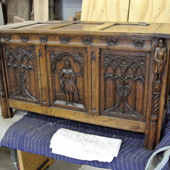Furniture Restoration - Antique Chest