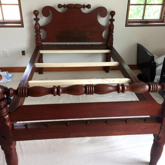 Furniture Restoration - Bed Frame