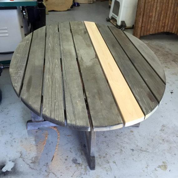 Furniture Restoration - Round Table
