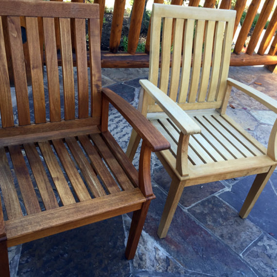 Furniture Restoration - Outdoor Chairs