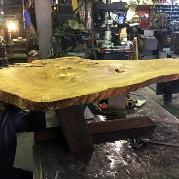 Custom Furniture - Wood Table