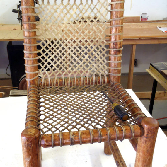 Furniture Restoration - Woven Chair